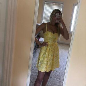 Lilly Pulitzer mini dress with pockets